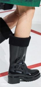 Rain Boots sock fashion